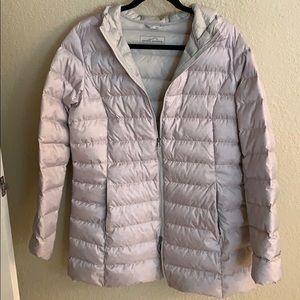 Eddie Bauer jacket gray Large